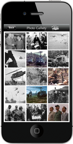 vietnam wall app home page